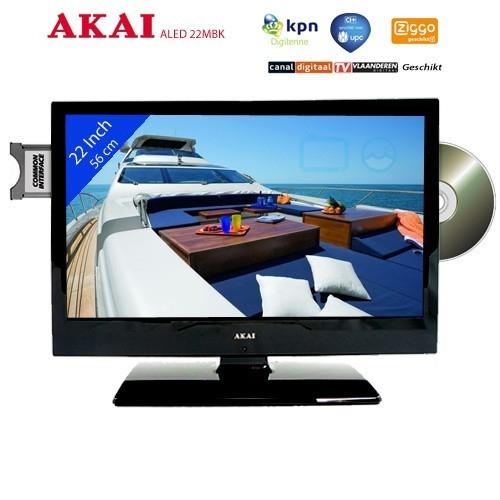 Akai ALED22MBK Mobile LED TV 22